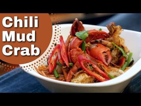 Thai Food – Chilli Mud Crab Recipe, , ปูผัดพริก Duncan's Thai Kitchen