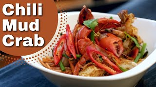 Thai Food - Chilli Mud Crab Recipe, , ปูผัดพริก Duncan's Thai Kitchen