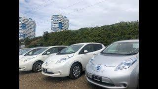 Сколько проезжает НИССАН ЛИФ  электромобиль Nissan leaf