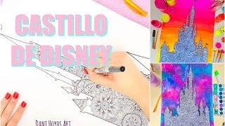 DIBUJA EL CASTILLO DE DISNEY CONMIGO ✮ Dani Hoyos
