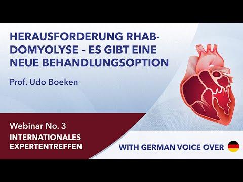 Herausforderung Rhabdomyolyse - Es gibt eine neue Behandlungsoption | Udo Boeken | Webinar 3