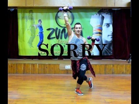 Justin Bieber Ft. J Balvin - Sorry (Latino Remix) - Zumba Toning by Claudiu Gutu