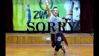 Justin Bieber Ft. J Balvin - Sorry (Latino Remix) - Zumba Toning by Claudiu Gutu