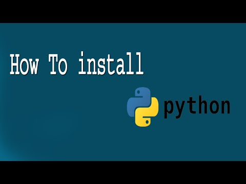 How to install python in pc or laptop | python tutorial by krishna in telugu 2019 thumbnail