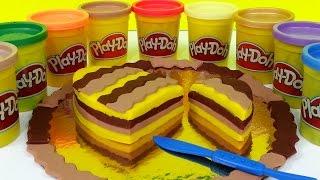 Play Doh How To Make Kids Cake Party Dessert Playdough Thumbnail