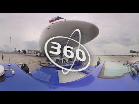 Airport 360 - Airbus A380 Emirates