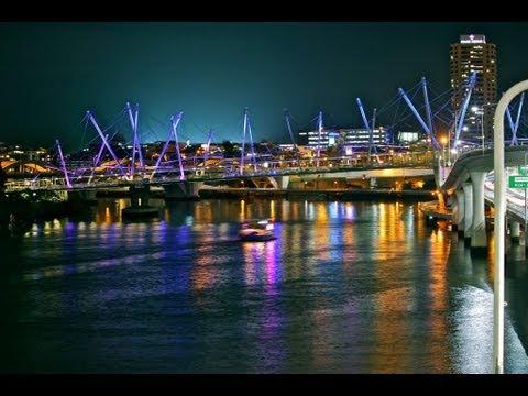 Brisbane River by Night [ASMR Video]