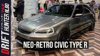 Honda's Civic Cyber Night Japan Cruiser 2020 is a Neo-Retro EK9 Type R | TAS 2020 Hot Takes