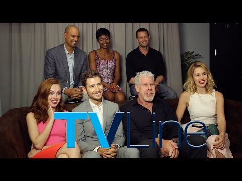 """Hand of God"" Cast Interview at Comic-Con 2015 - TVLine"