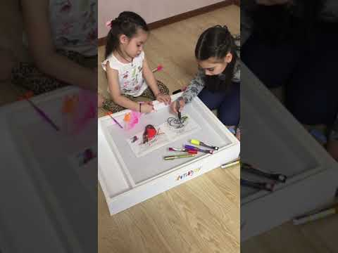 Our must-have for all kids- 5-in-1 Art Light Activity Box.
