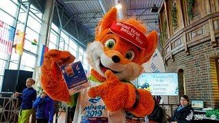 Лесик – чемпион! Талисман II Европейских игр победил на зимнем фестивале в Литве