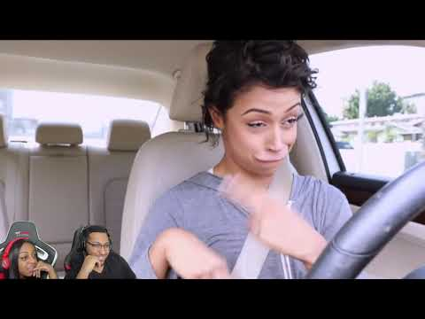 Liza Koshy 'IN A HIT AND RUN!! DRIVING WITH LIZA PART 4!' REACTION!!!