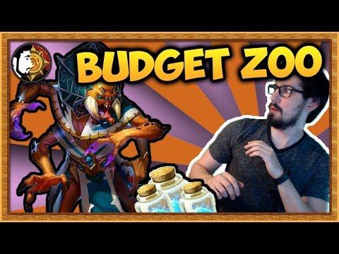 Hearthstone: Budget Aladdin Zoo Warlock - Rise Of Shadows