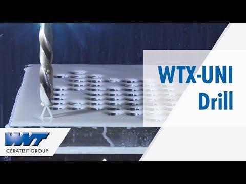 WNT WTX-UNI Drill with Dragonskin Coating