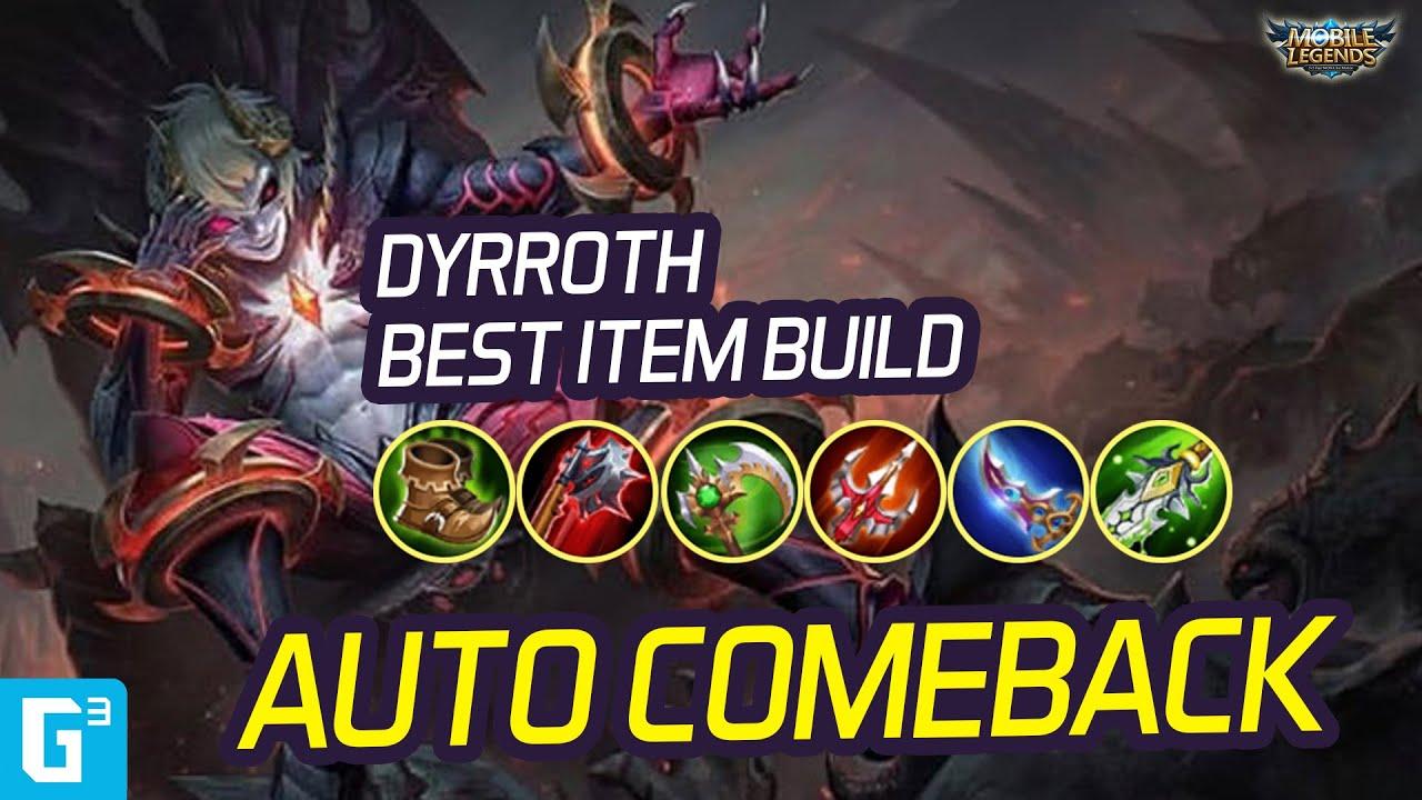 BUILD DYRROTH AUTO MENANG 🤣🤣 ITEM GUIDE DYRROTH