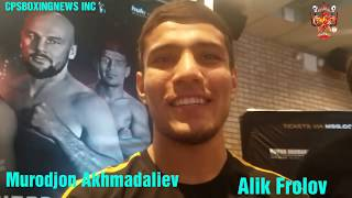 Murodjon Akhmadaliev well Known as MJ/on Daniel Roman.I will be Waiting for U Or The Other Champions