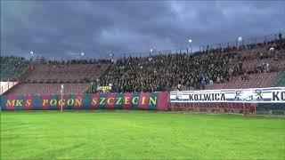 Pogoń Szczecin - Zagłębie Sosnowiec 08.12.2018, doping Portowców