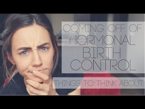 Coming Off Of Hormonal Birth Control