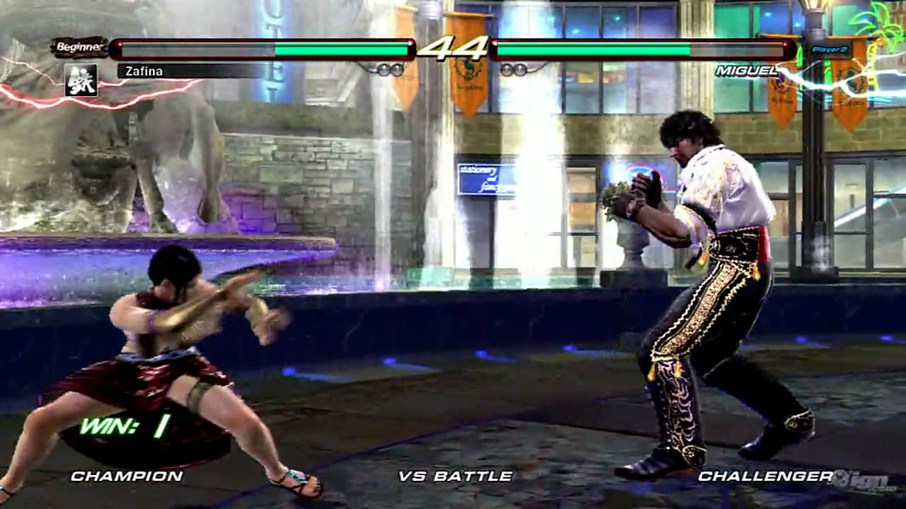 Tekken 6 Zafina Vs Miguel Ps3 Gameplay True Hd Quality Youtube