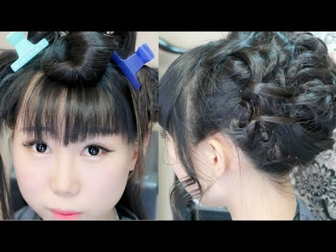 American Prom/Bridal Hair Transformation | First Time Go to Hair Salon In America
