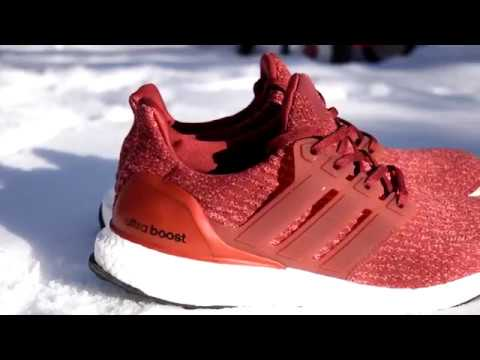 b5ad4863e4010 ADIDAS ULTRA BOOST 3.0 WOMEN TO MEN SIZING!!! (MYSTERY RED) - YouTube