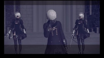 NieR: Automata | Killing the 2B Horde