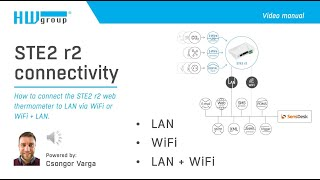 STE2 r2 connectivity: How to connect the STE2 r2  to LAN via WiFi or WiFi + LAN
