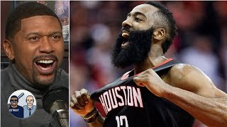 James Harden's no-call was terrible officiating | Jalen & Jacoby