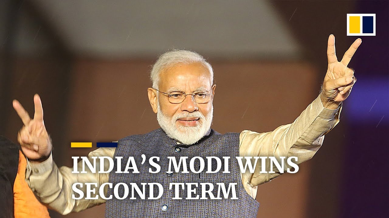 India reacts to re-election of Prime Minister Narendra Modi in 2019 general election