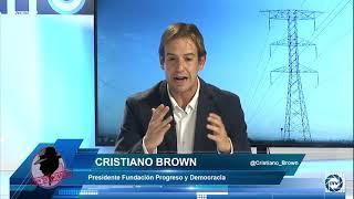 Cristiano Brown: No es suficiente vivir de energías renovables, aunque todos quisiéramos