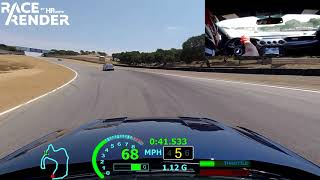Laguna Seca : MUSTANG GT'18 BEST LAP 1 42 335