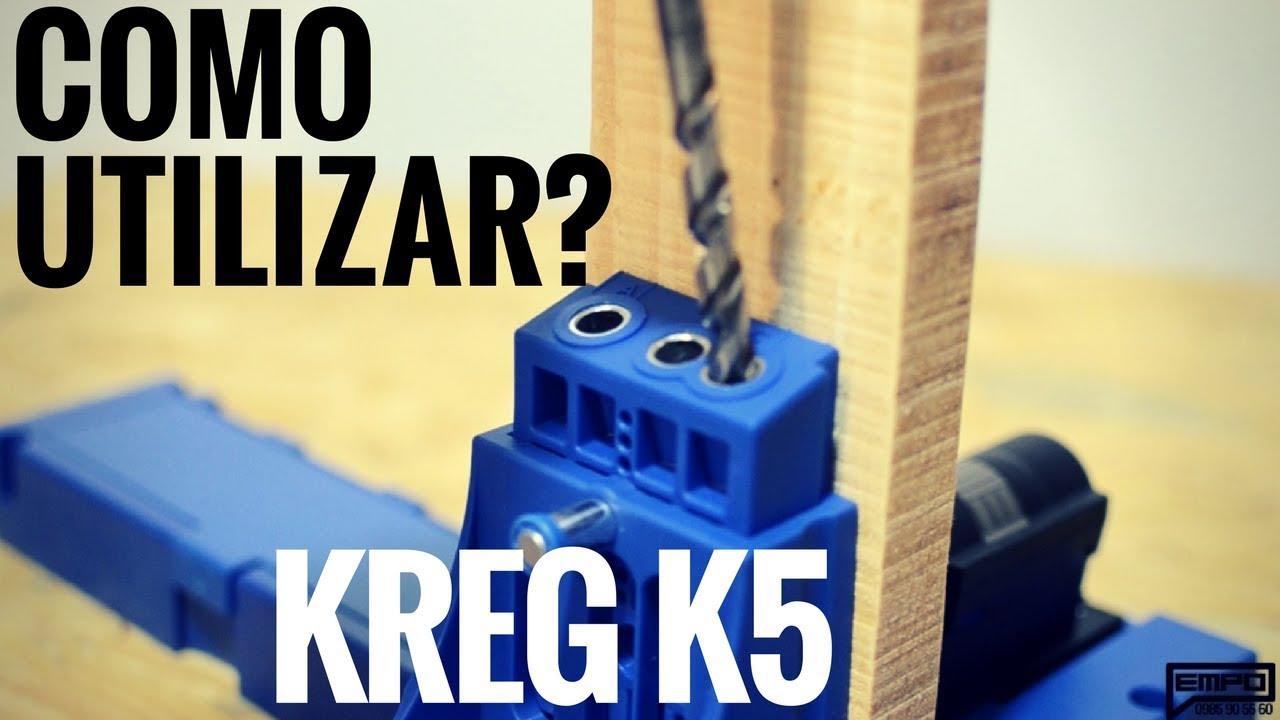 COMO USAR EL KREG JIG K5   EmpoTIP#2 - YouTube
