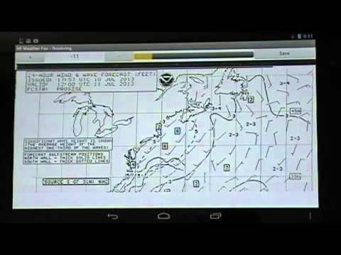 HF Weather Fax Marine Radio Fascimile Decoder App For Android