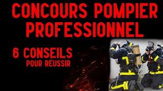 6 conseils pour préparer le concours de pompier professionnel [FireCast #36]
