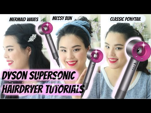 Dyson Supersonic Hairdryer Review & Tutorial! | How To 3 Easy Everyday Hairstyles!