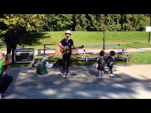 Down on the Corner performed by Emmy at Stroll For Kids