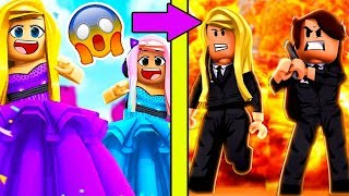 PRINCESS Go UNDER COVER To Find The TRUTH - A Roblox Story