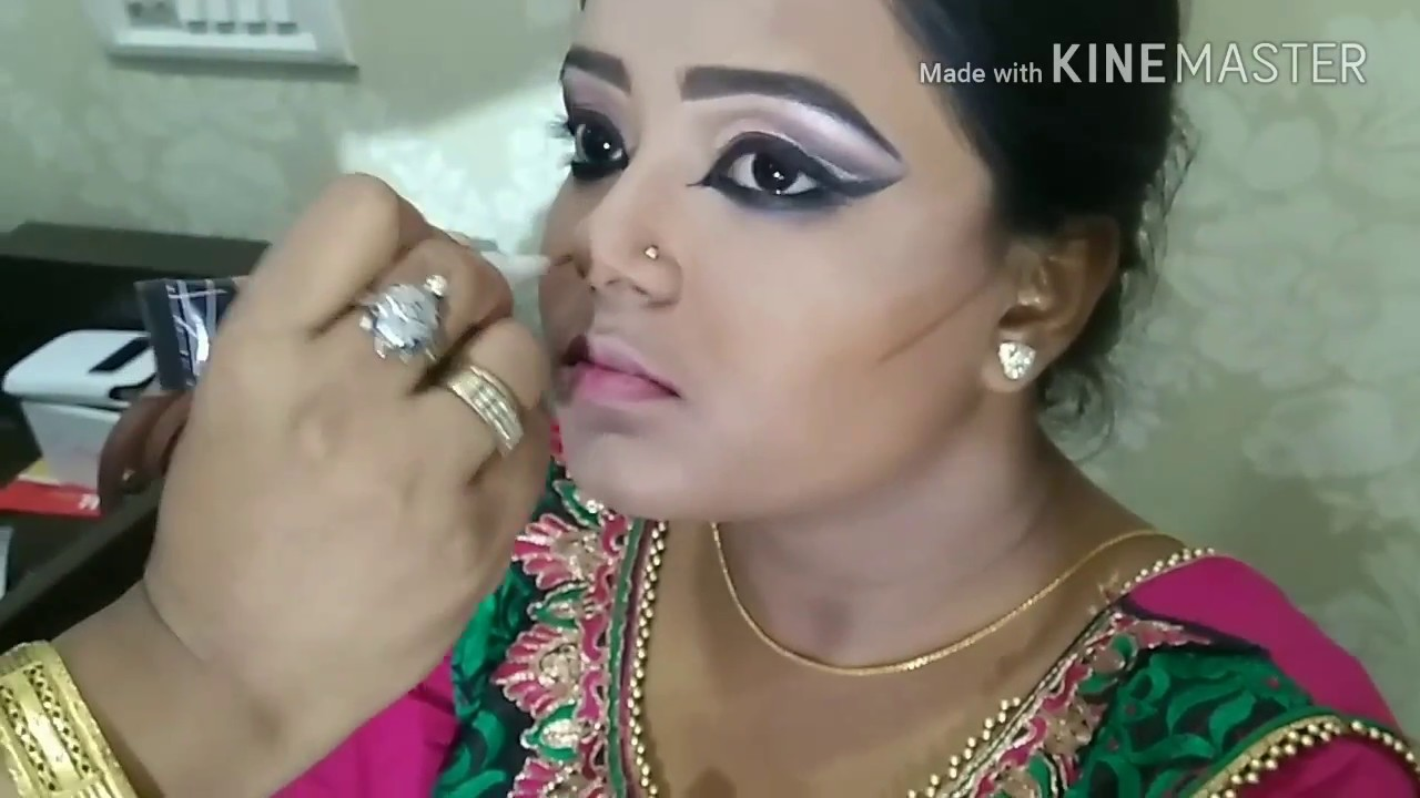 Indian Classical Dance Inspired Makeup How To Enhance Small Eyes To