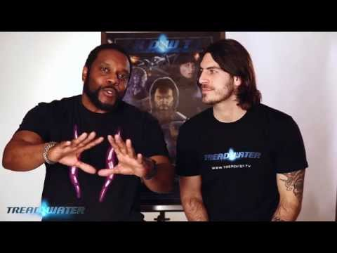Chad L Coleman from AMC's The Waking Dead presents his Transmedia Franchise: Treadwater