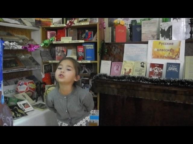 Изображение предпросмотра прочтения – ШаснеАметова читает произведение «Я выросла» А.Л.Барто