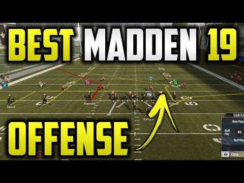 "Free ""Glitch"" Play Beats Every Coverage🔥(In All Playbooks) Madden 19 Best Play Free Offensive Ebook"