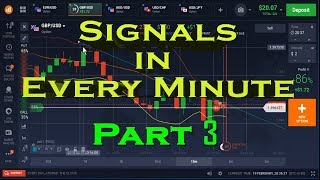Signals in Every Minute Part Three in Hindi     Best Binary Option Strategy 2018