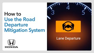 homepage tile video photo for How to Use the Road Departure Mitigation System (RDM)