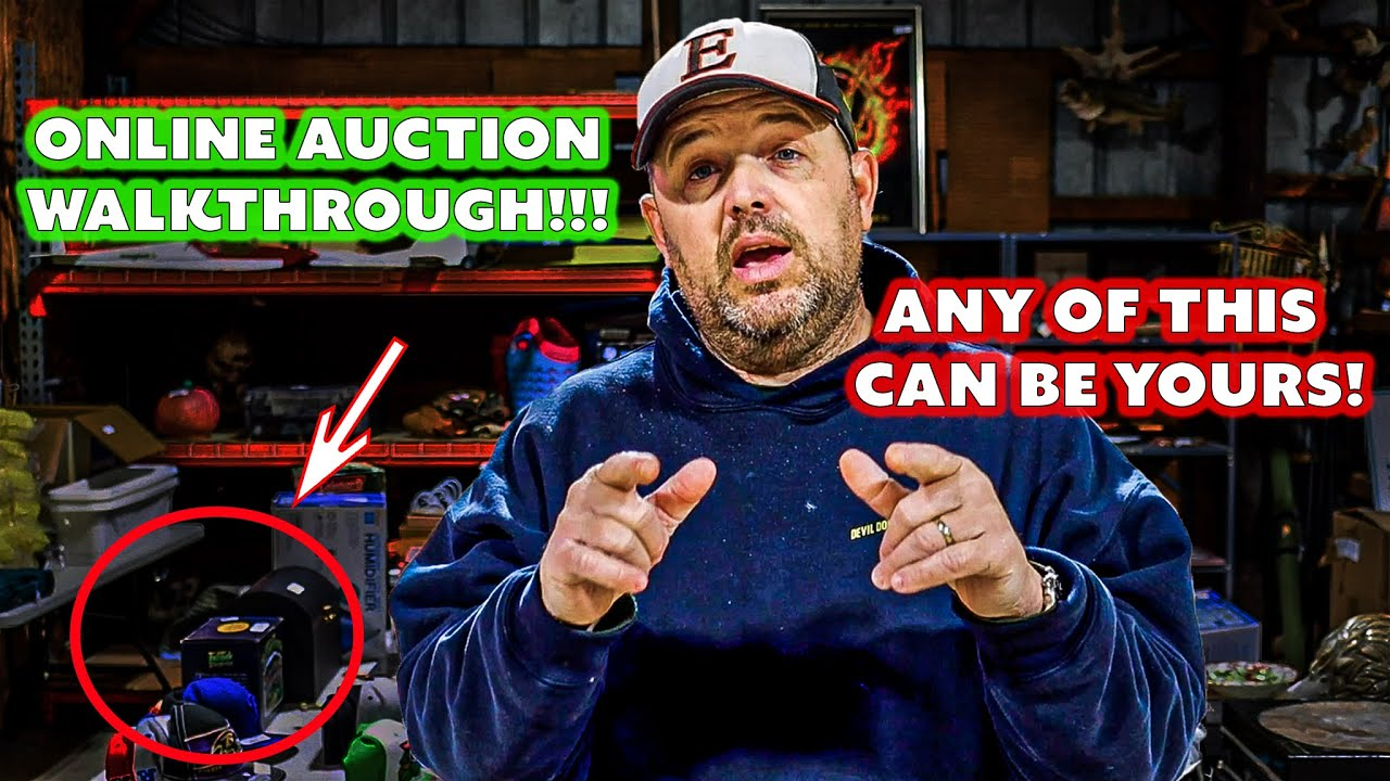 Online Auction Item Walkthrough!!! ANY OF THESE ITEMS CAN BE YOURS!!! (March 2020)