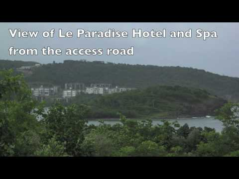 Praslin Beach Front Land For Sale - St.Lucia.mov