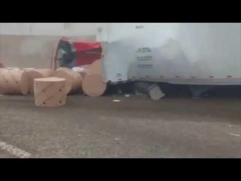 Policía Federal evita accidente sobre la autopista México–Puebla
