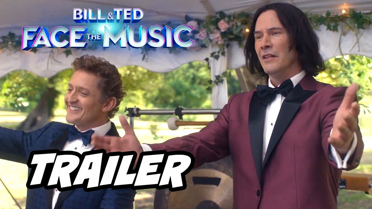 Keanu Reeves And Alex Winter Return In 'Bill & Ted 3' Official Trailer
