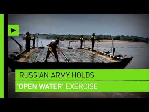 Friendly Competition: 'Open Water' 2016, a Russian military contest