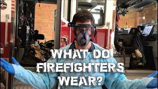 What do firefighters wear?