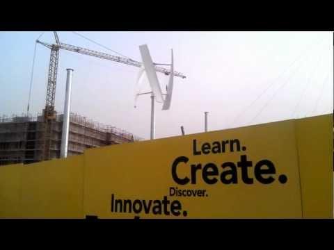 First Wind Turbine in Qatar